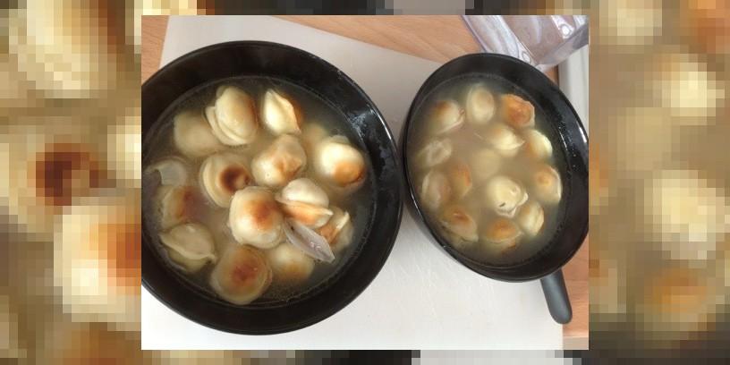 Пельменный суп as is