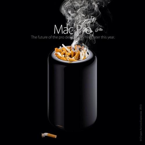 Mac Pro 2013 пепельница