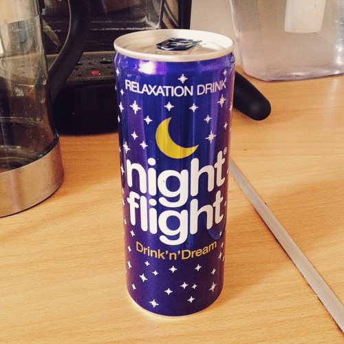 Relaxation Drink Night Flight