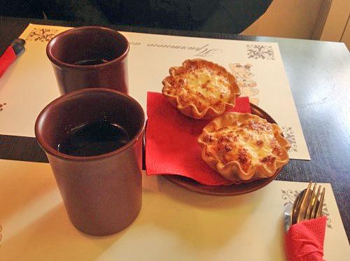 Пирожные с семгой «Наутилус»