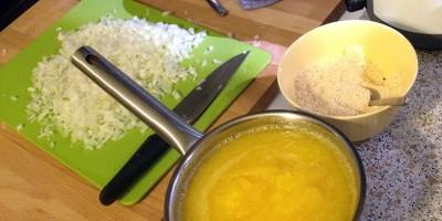 Готовка тыквенного супа