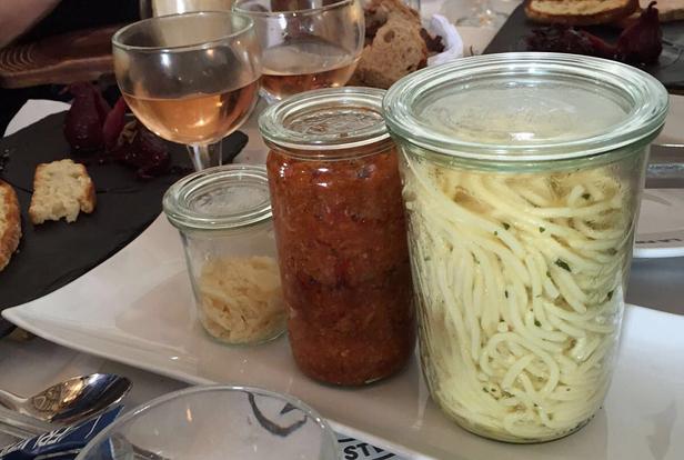 Спагетти хипстера