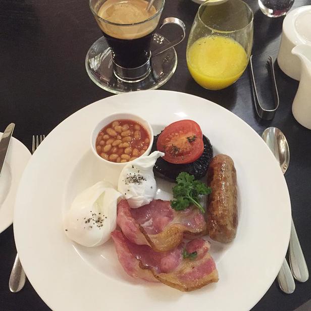 Нормальный завтрак