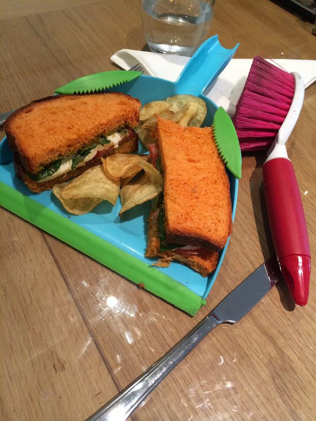 Сендвич хипстера