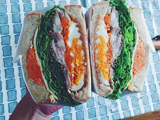 Нормальный сендвич