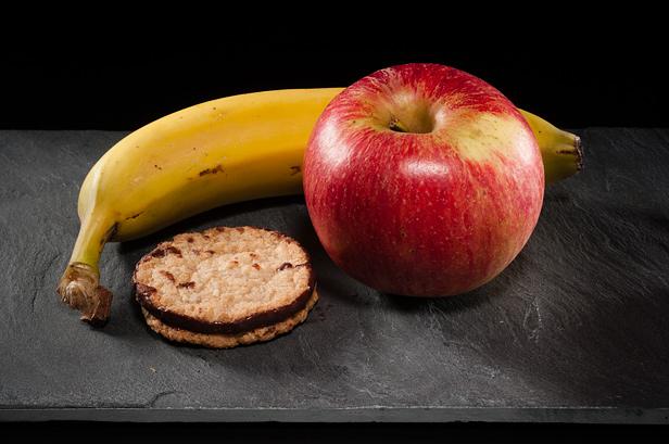 Яблочно-банановый экспресс, ингредиенты