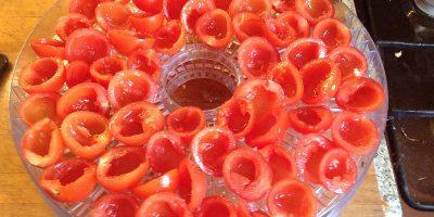 томаты перед сушкой